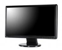 Flatskjerm til PC: Benq 22toms T2210HD, FULL HD 1920x1080, VGA/DVI, pent brukt