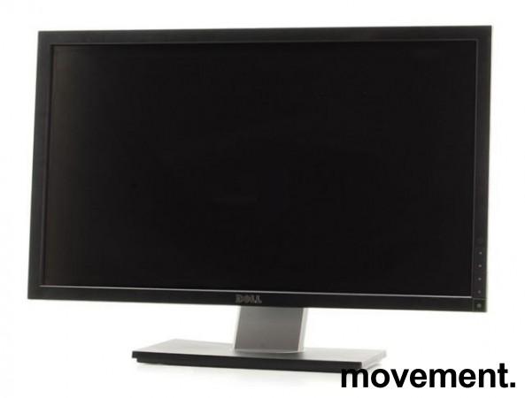 Flatskjerm til PC: Dell 24toms, G2410, 1920x1200, VGA/DVI-D, pent brukt bilde 1