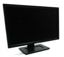 Dell flatskjerm til PC 22toms, modell E2211Hb, 1920x1080 Full HD, VGA/DVI, pent brukt