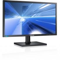 Flatskjerm til PC: Samsung 27toms, Syncmaster S27E650 LED, Full HD 1920x1080, VGA/DVI/DP, pent brukt