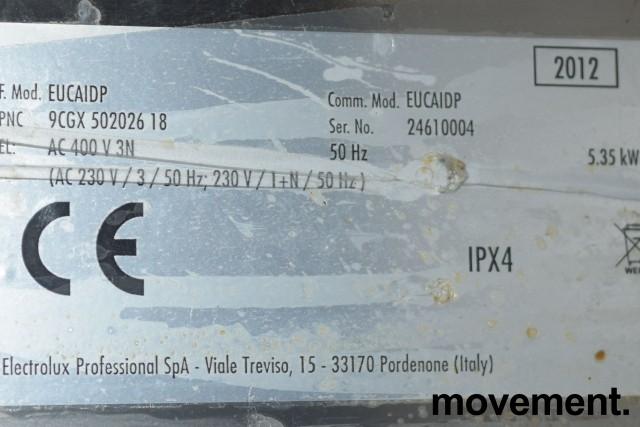 Electrolux WT30 underbenk oppvaskmaskin i rustfritt for storkjøkken, 400v 3fas, pent brukt 2012-mod bilde 3