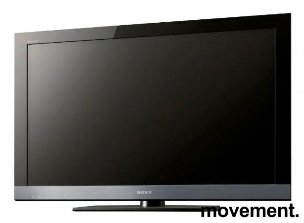 Flatskjerms-TV: Sony Bravia 55toms LCD KDL-55EX500 Full HD, pent brukt, med veggfeste bilde 1
