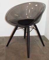 Morsom loungestol på hjul, Gliss 968 fraPedrali i grønn