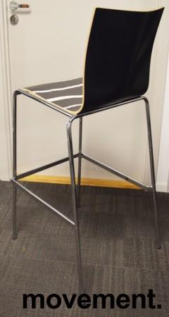 Barstol / barkrakk fra Engelbrechts, modell Chairik, design Erik Magnussen, 76,5cm sittehøyde, pent brukt bilde 2