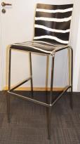 Barstol / barkrakk fra Engelbrechts, modell Chairik, design Erik Magnussen, 76,5cm sittehøyde, pent brukt