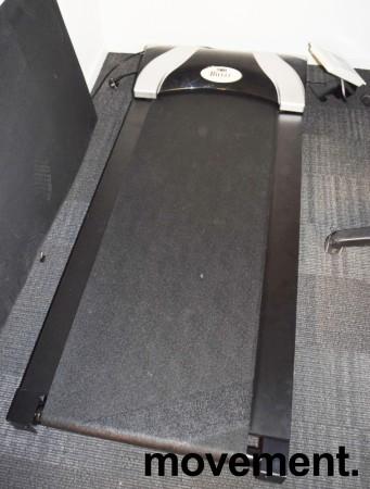 Bwell tredemølle for kontor, Kontormølla, med konsoll som kan settes på pulten, pent brukt bilde 3