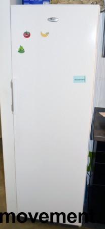 Whirlpool WME1830 A+W kjøleskap i hvitt, høyde 179,5cm, pent brukt bilde 1