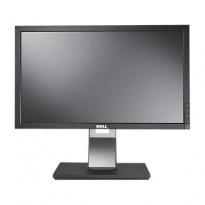 Flatskjerm til PC: DELL P2210t 22toms, 1680x1050, VGA/DVI/DP/USB, pent brukt