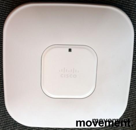 Cisco Accesspoint for wireless-controller, AIR-AP1142N-E-K9 v02, pent brukt bilde 1