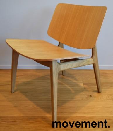 Loungestol i eik fra Magnus Olesen, modell Freya Lounge 4731, Design: Says Who, pent brukt bilde 2
