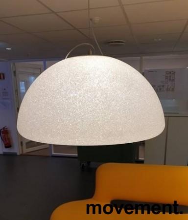 Stor pendellampe: Lumen Center Italia, modell Iceglobe Semi Gigant S 78cm, pent brukt bilde 4