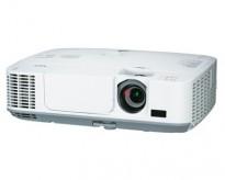NEC Prosjektor M311W, 3100Lumen, HDMI, Widescreen 1280x800, pent brukt - kun 963timer på pære!