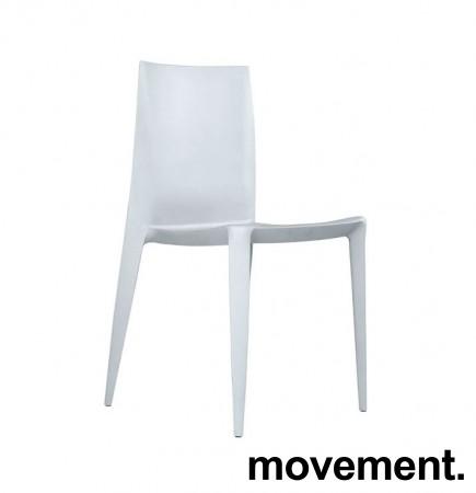 The Bellini Chair fra Heller, USA i lysegrått, Design: Mario Bellini, fin både inne og ute, pent brukt bilde 1