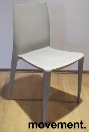 The Bellini Chair fra Heller, USA i lysegrått, Design: Mario Bellini, fin både inne og ute, pent brukt bilde 2