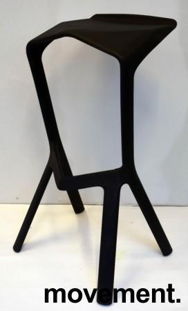 Barkrakk fra Plank, Miura i sort, 78cm sittehøyde, pent brukt bilde 2