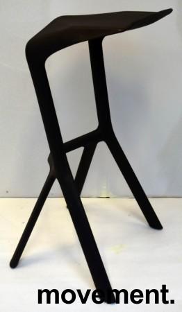 Barkrakk fra Plank, Miura i sort, 78cm sittehøyde, pent brukt bilde 3
