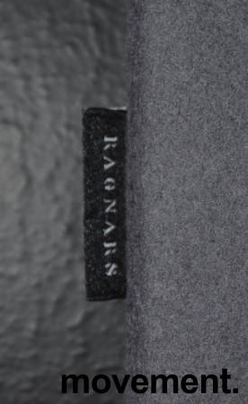 Bordskillevegg i grått stoff fra Ragnars, 160x60cm, pent brukt bilde 3