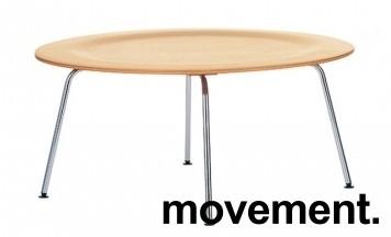 Vitra Coffee Table Metal CTM i formspent finer / krom, ask, design: Charles & Ray Eames, pent brukt bilde 4