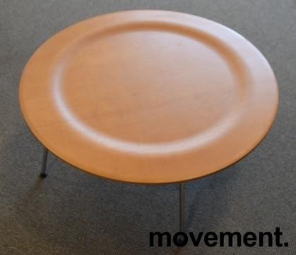 Vitra Coffee Table Metal CTM i formspent finer / krom, ask, design: Charles & Ray Eames, pent brukt bilde 3