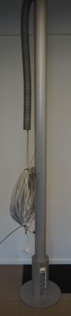 IDT Grenstaver for kontor med 4xnettverk og 8xstrøm, tosidig, pent brukt bilde 1