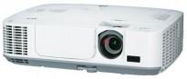 NEC Prosjektor M300W, 3000Lumen, HDMI, Widescreen 1280x800, 1072timer på pæren, pent brukt