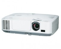 NEC Prosjektor M311W, 3100Lumen, HDMI, Widescreen 1280x800, pent brukt - 1271timer på pære!
