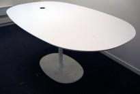 Arper Dizzie konferansebord / møtebord i hvitt, 160x100cm, pent brukt