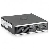 Ultraslim Desktop PC: HP Elite 8300 Ultraslim, Core i5-3470S - 2,9GHz, 8GB / 128GB SSD, pent brukt