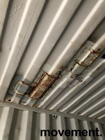 40fots HQ container / lagercontainer, lekkasje i taket bilde 4
