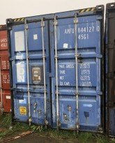 40fots HQ container / lagercontainer, lekkasje i taket