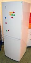 Kjøleskap / kombiskap i hvitt, Ikea Whirlpool modell LAGAN, 175cm høyde, pent brukt