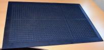 Ergonomisk avlastningsmatte / gummimatte for stående jobbing, 91x60cm, pent brukt