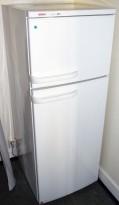 Bosch kjøleskap / kombiskap i hvitt, 54,5cm bredde, 141cm høyde, KSV2404/04, pent brukt