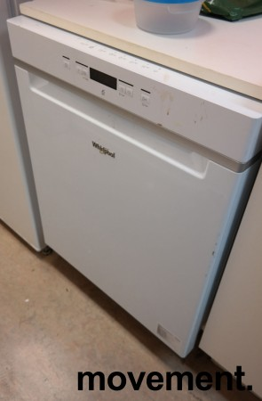 Whirlpool WUC3C22 oppvaskmaskin i hvitt, pent brukt bilde 2
