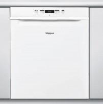Whirlpool WUC3C22 oppvaskmaskin i hvitt, pent brukt
