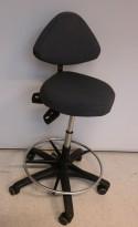 Ergonomisk kontorstol / arbeidsstol fra Ero i grått stoff, pent brukt