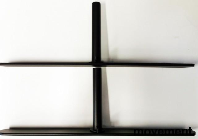 Benpakke T-fot til Abstracta Softline gulvstående skillevegg, 18mm, NY bilde 2