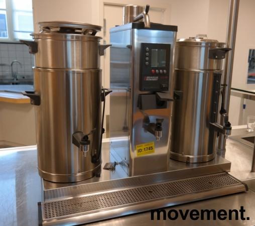 Bravilor Bonamat B10-HW 2x10 liters urne-kaffetrakter proff-modell, 3fas 230V, pent brukt bilde 2
