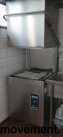 Comenda LC700M hetteoppvaskmaskin for storkjøkken, 230Volt 3fas, pent brukt bilde 1