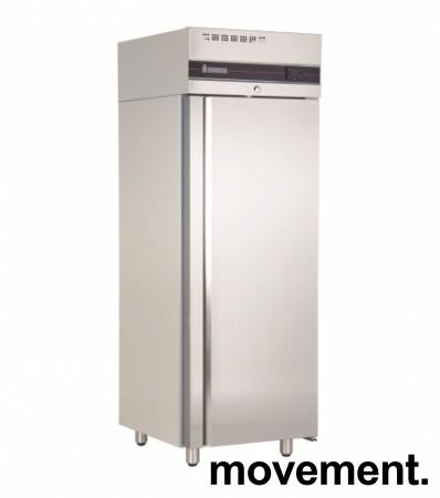 Inomak CBS170 fryseskap for storkjøkken i rustfritt stål, 72cm bredde, 210cm høyde, pent brukt bilde 1