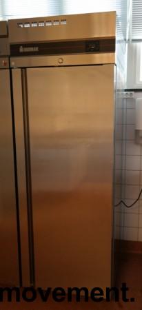 Inomak CBS170 fryseskap for storkjøkken i rustfritt stål, 72cm bredde, 210cm høyde, pent brukt bilde 2