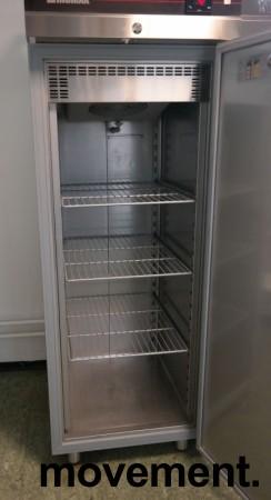 Inomak CZS170 kjøleskap for storkjøkken i rustfritt stål, 72cm bredde, 210cm høyde, pent brukt bilde 3