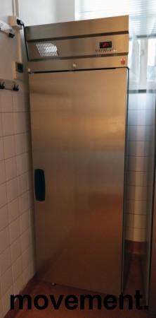 Inomak CB170 fryseskap for storkjøkken i rustfritt stål, 72cm bredde, 210cm høyde, pent brukt bilde 1