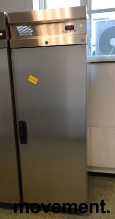 Inomak CZ170 kjøleskap for storkjøkken i rustfritt stål, 72cm bredde, 210cm høyde, pent brukt bilde 1