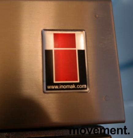 Inomak CZ170 kjøleskap for storkjøkken i rustfritt stål, 72cm bredde, 210cm høyde, pent brukt bilde 3
