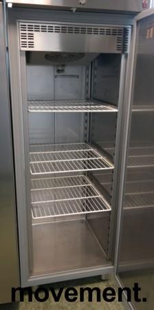 Inomak CZ170 kjøleskap for storkjøkken i rustfritt stål, 72cm bredde, 210cm høyde, pent brukt bilde 2