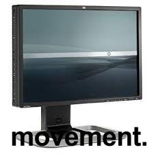 HP Flatskjerm til PC, modell LP2475w 24toms, 1920x1200, DVI/HDMI/DP/COMPOSITE/USB, pent brukt