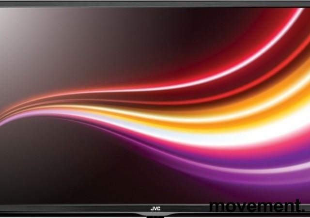 JVC Flatskjerms-TV, LED 40toms, modell LT-40E71, 1920x1080 (FULL HD), uten bordfot, pent brukt