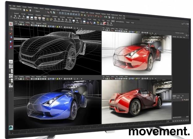 Flatskjerm fra Philips: 43toms 4K LED BDM4350UC 3840x2160 UHD IPS, 5ms, 2xDP 2xHDMI, pent brukt