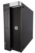 Stasjonær PC fra DELL: Precision T3610, Xeon E5-1607 v2 3GHz, GTX760 2GB, 275GB SSD, 8GB, pent brukt